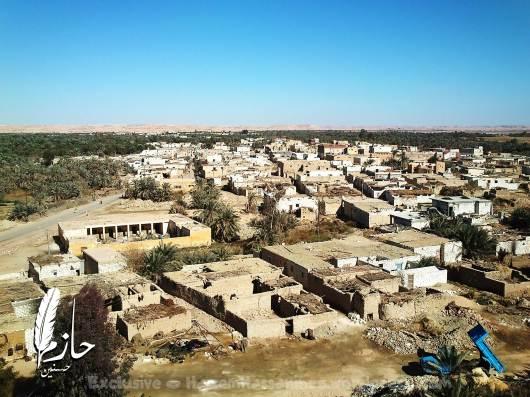 Overview Siwa قرية أغورمي– سيوة – الصحراء الغربية – مصر  Agourmy town – Siwa –western desert - Egypt0054-DSC_0361
