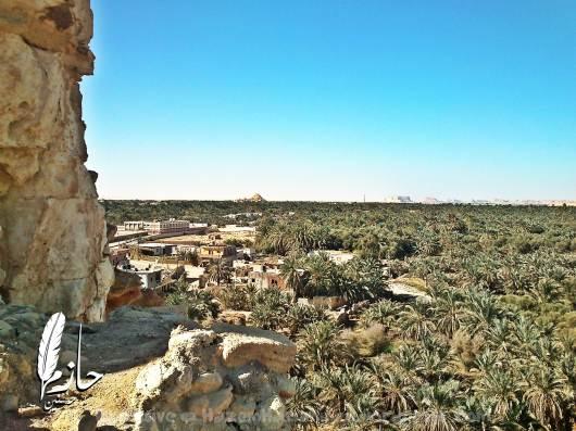 Overview Siwa قرية أغورمي– سيوة – الصحراء الغربية – مصر  Agourmy town – Siwa –western desert - Egypt0056-DSC_0365