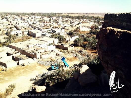 Overview Siwa قرية أغورمي– سيوة – الصحراء الغربية – مصر  Agourmy town – Siwa –western desert - Egypt0059-DSC_0392