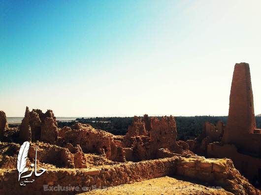 Overview Siwa معبد أمون – معبد التنبؤات – الاسكندر الأكبر – سيوة – الصحراء الغربية – مصر Amoun Temple – Alexander the great – Siwa –western desert - Egypt0053-DSC_0335