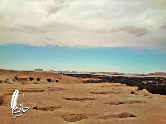 Overview Siwa Mountain of the Dead – Siwa – Western desert – Egypt  جبل الموتى – سيوة – الصحراء الغربية – مصر 0027-DSC_0125